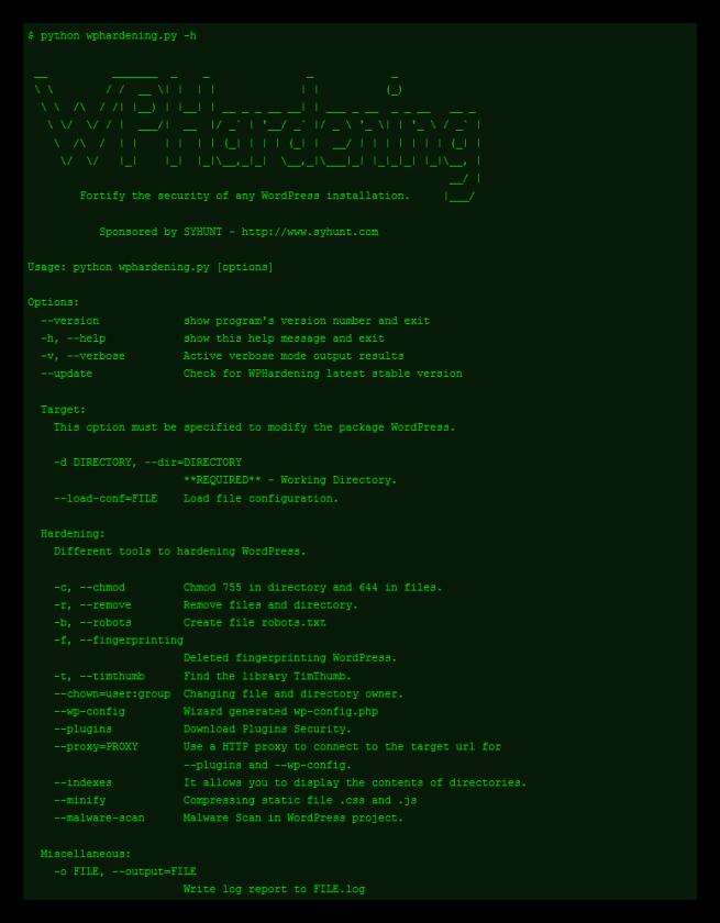 WPHardening - Mejorar la seguridad de un sitio WordPress