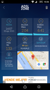 Hotel Vila Gale Coimbra Test de velocidad