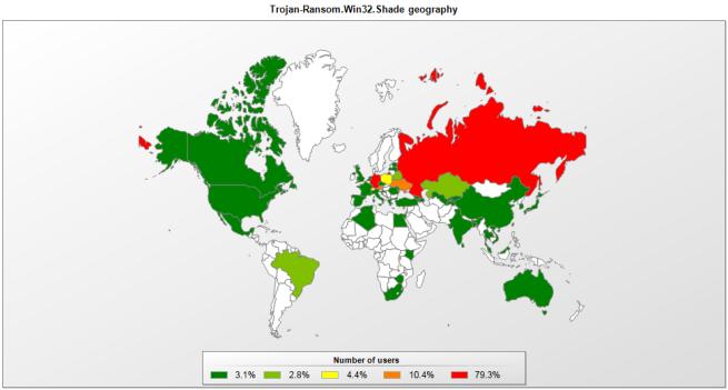 shade mapa tasa de infeccion