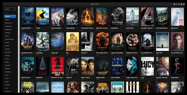 Browser Popcorn - biblioteca
