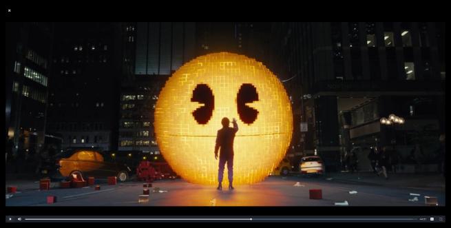 Browser Popcorn - reproducción