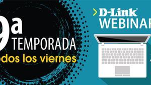 Vuelven los Webinars gratuitos de D-Link, aprende sobre videovigilancia, Wi-Fi y switching