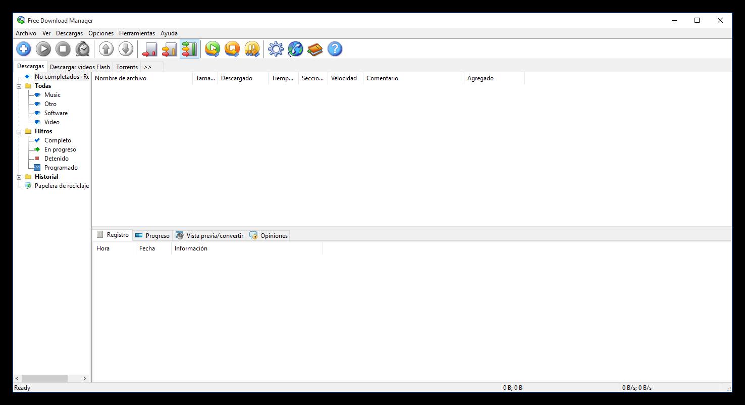 Descargas archivos desde Internet? Utiliza Free Download Manager