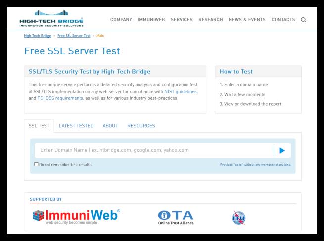 Free SSL Test Server