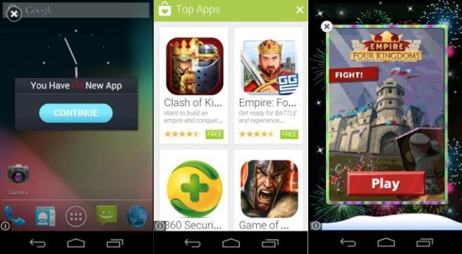 Play Store camapaña malware android