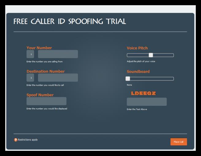 Suplantar identificador de llamadas
