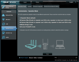 ASUS RP-AC56 Firmware