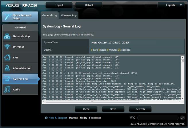 ASUS RP-AC56 Firmware