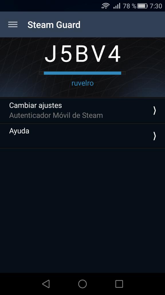 Código de inicio de Steam Guard