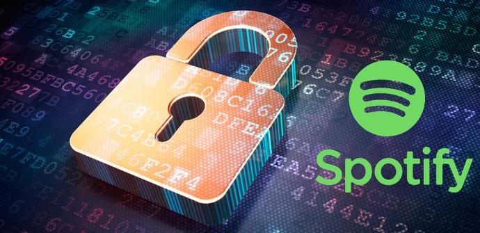 Configurar privacidad en Spotify