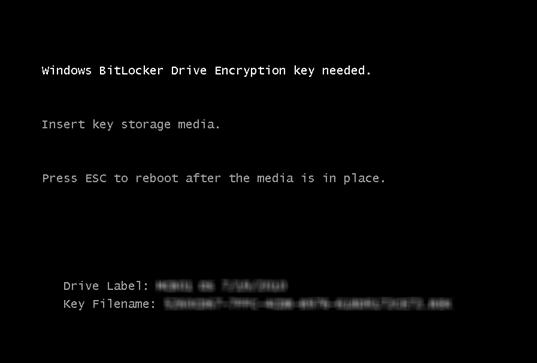Disco duro cifrado con BitLocker