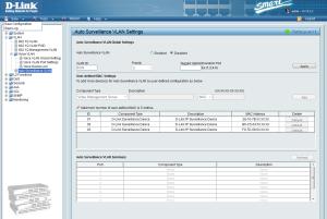D-Link DGS-1210-10: Firmware parte VLAN