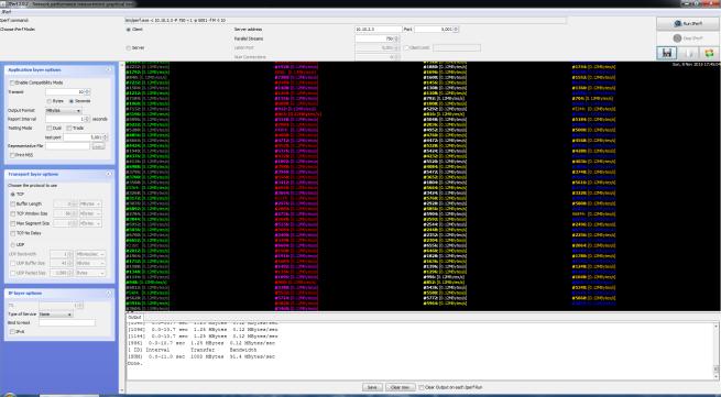 D-Link DGS-1210-10: Pruebas LAN