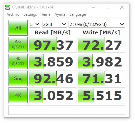synology ds416 JBOD con cifrado 2000 MB