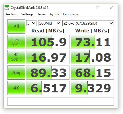 synology ds416 JBOD con cifrado 500 MB