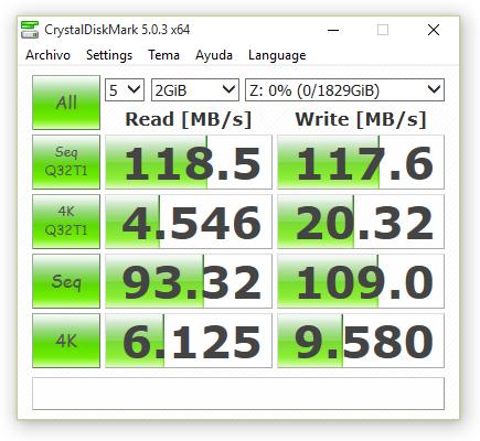 synology ds416 JBOD sin cifrado 2000 MB