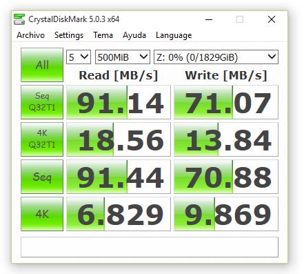 synology ds416 RAID1 con cifrado 500 MB