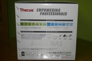 Lateral derecho de la caja del Thecus N4310
