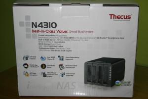 Trasera del NAS Thecus N4310