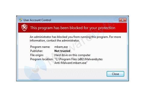 vonteera bloquea programas antivirus