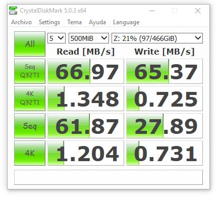 wd my cloud mirror USB3.0 500 MB
