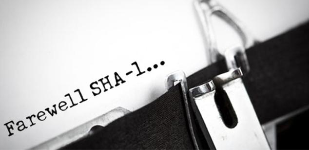 Acabando con SHA-1