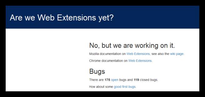 Desarrollo de la API WebExtensions de Mozilla Firefox