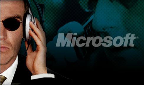 Espionaje de Microsoft