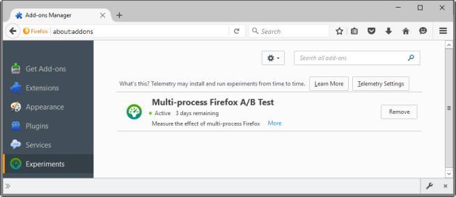 Firefox Beta - prueba de Electrolysis