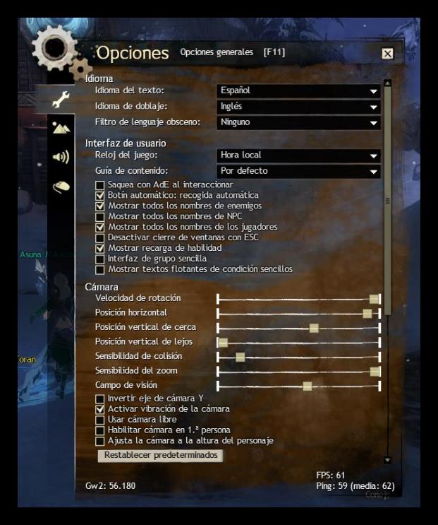 Guild Wars 2 - Ping sin WTFast