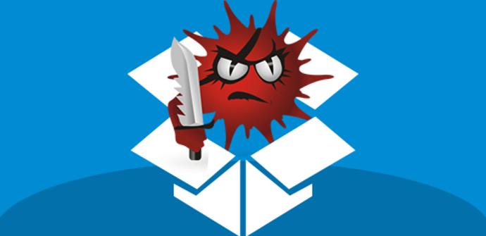 Malware alojado en Dropbox