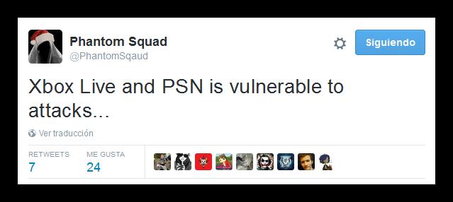 PhantomSquad asegura que Sony y Microsoft son vulnerables