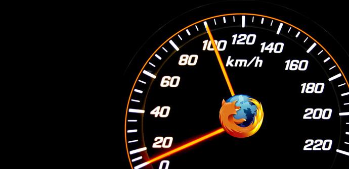 Velocidad y rendimiento de Firefox