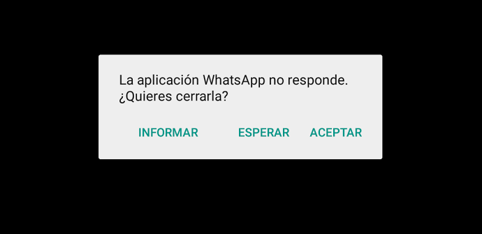 WhatsApp no responde