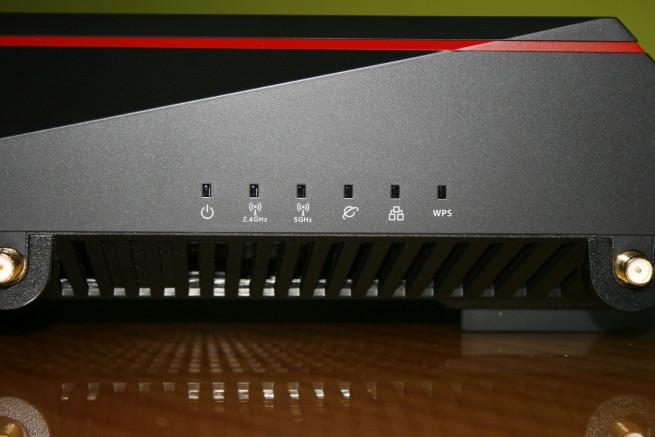 LEDs del router ASUS RT-AC5300