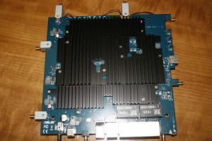 Placa posterior del ASUS RT-AC5300