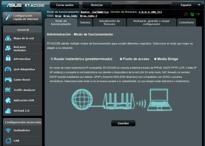 Análisis del firmware del ASUS RT-AC5300