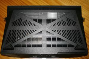 Inferior del router ASUS RT-AC88U