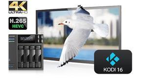 ASUSTOR ofrece la beta de Kodi 16 compatible con streaming de contenidos en 4K