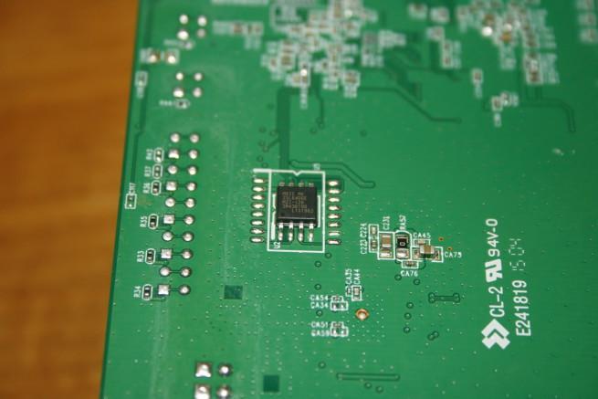 Memoria FLASH del router neutro Edimax EW-6478AC V2