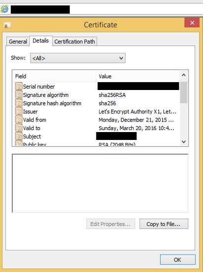 Certificado Let's Encrypt