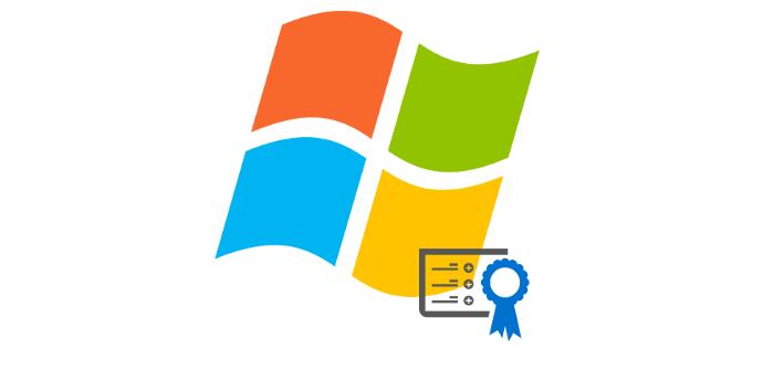 Certificado Windows