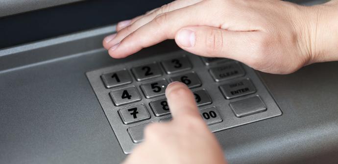 Código PIN en cajero
