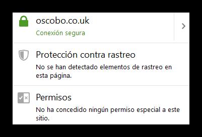 Firefox - Oscobo libre de rastreadores