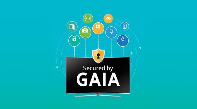 gaia aplicacion de seguridad samsung smart tvs