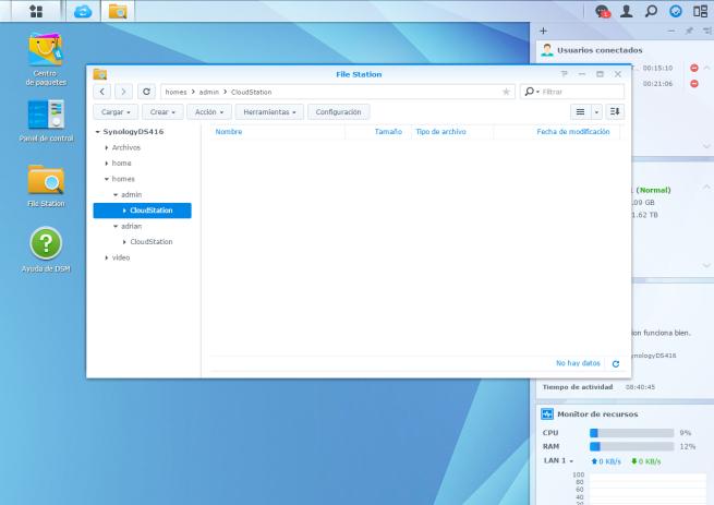 manual crear nube de almacenamiento domestica utilizando NAS Synology 11
