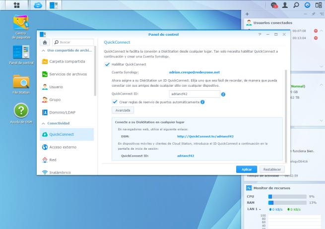 manual crear nube de almacenamiento domestica utilizando NAS Synology 4