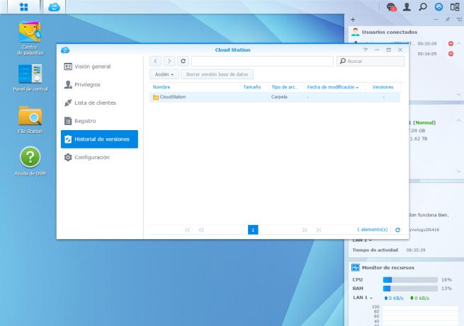 manual crear nube de almacenamiento domestica utilizando NAS Synology 8
