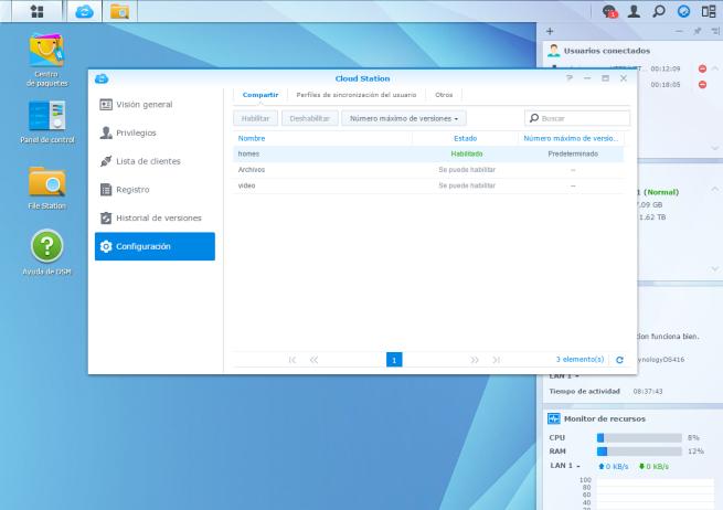 manual crear nube de almacenamiento domestica utilizando NAS Synology 9