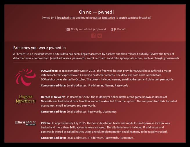 Datos de usuario robados durante ataques informáticos